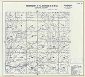 Township 7 N., Range 2 E., Kalma River, Elk Creek, Shelley Mountain, Cowlitz County 1968